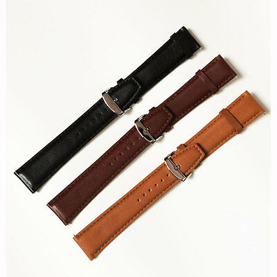 Genuine Leather Wrist Band For Samsung Galaxy Gear S2 Classic & Moto 360 2nd Gen