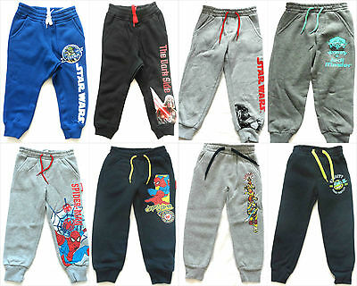 Boys Character Jogging Bottoms Tracksuit Bottoms Trousers Age 2-10 Years