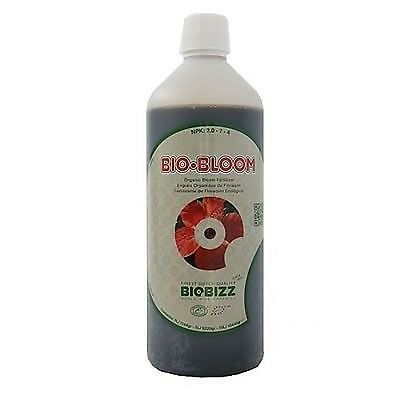 BIOBIZZ BIO-BLOOM 1 L BIOBLOOM  FERTILIZZANTE FIORITURA FLOWERING FERTILIZER g