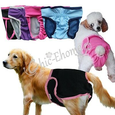 Sanitary Physiological Pants Diaper Panties Underwear for Male Female Dogs Pets