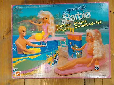 Barbie - Piscina - Piscina - Pool Set - Acquamagic - Mattel - 1990