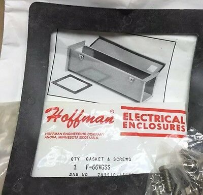 HOFFMAN F66WGSS Gasket & Screws Hardware Kit for Feed Through Wireway 6X6