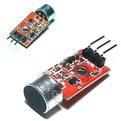 The Microphone Amplifier Sound MIC Voice Module for Arduino 3.3V/3.5V MAX9812