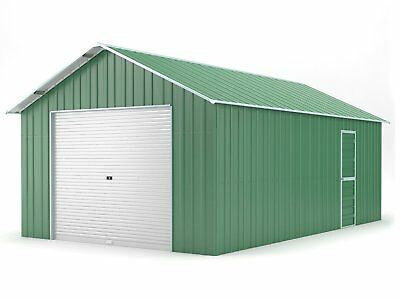 Single Garage 4.4m x 7.2m Widespan Rivergum Garages Steel NEW