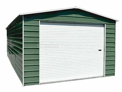 Workshop Garage 3.5m x 7.7m x 2.8m Widespan Rivergum Garages Steel NEW