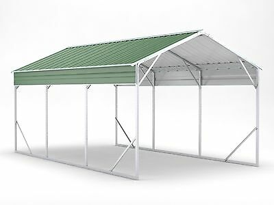 Carport 3.5m x 6.0m x 2.9m Widespan Rivergum Car Port Steel Portable RV Boat NEW