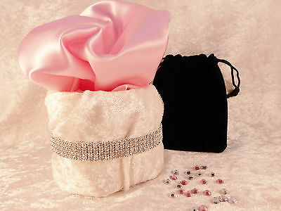 Crystal Rhinestone Stretch Tennis Anklets Choice 1-5 Rows Bridal, Prom or Bling