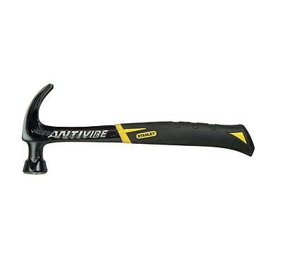 Stanley Tools FatMax Antivibe All Steel Curved Claw Hammer 567g (20oz) 51277