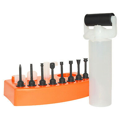 Wood Glue Gluing Roller Spreading Dowel Bisquit Biscuit Hole Slot Injector Kit