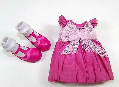 Lalaloopsy Fashion Pack Pink Party Dress & T-Strap Shoes for Full-Size Doll HTF