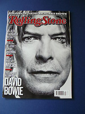 Rolling Stone Magazine - David Bowie  Issue: 737 April. 2013