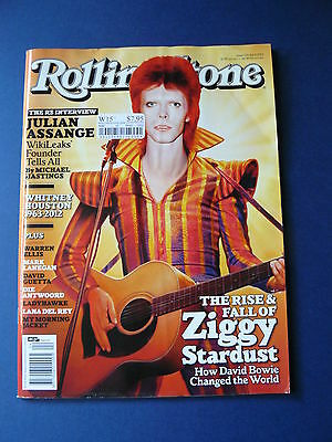 Rolling Stone Magazine - David Bowie  Issue: 725 April. 2012