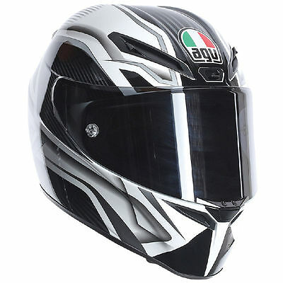 AGV GT Veloce TXT WHITE/BLACK Size L OUR PRICE £329.99