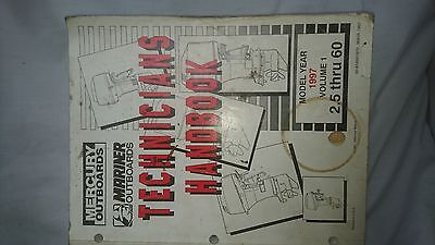 Mercury Mariner Outboard Technicians Manual 1997 2.5 to 60HP Volume 1