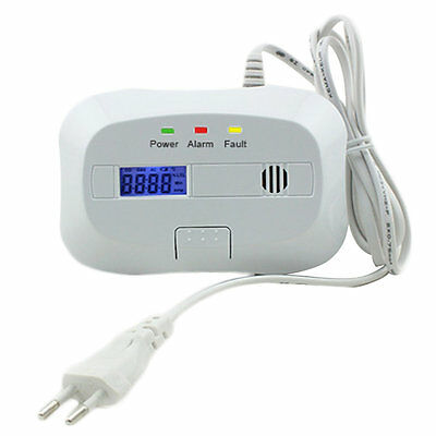 Portable Plug in Type Gas Detector Combustible Gas Tester LS-838-12W-SYG-A F7