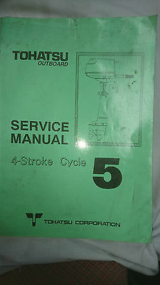 Tohatsu Service Manual 4 Stroke Cycle 5 Models