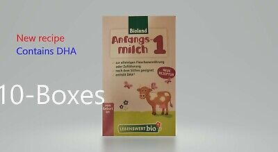 10-boxes of Holle-Lebenswert-Stage-1-Organic-free Shipping  EXP-4/2019