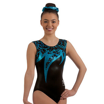 "Milano Pro Sport Gymnastic Leotard 'Tropicana Bodice 77610'  Sizes 26""-36"" - NEW"