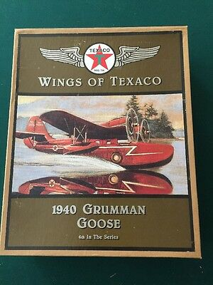 NIB Wings of Texaco 1940 Grumman Goose 4th In series Airplane Bank