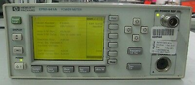 HP/Agilent EPM-441A E4418A Power Meter Power calibrated