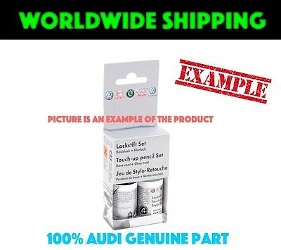 Audi Ice Silver metallic X7W Touch-Up Set LST0M2X7W Genuine New