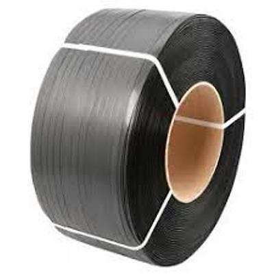 POLY STRAPPING BLACK 19 MM WIDE  - Heavy Duty on Core 19mm X 1000 Meters