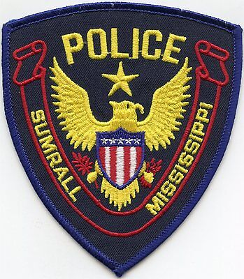 Sumrall Mississippi Ms Police Patch