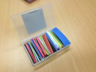 Heat Shrink Assortment REFILL - 50 pcs Multicolour 100mm lengths no box included