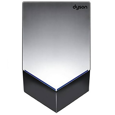 AB12S Dyson Airblade Dryer, very sleek, powerful and fast drying, perfect for hi
