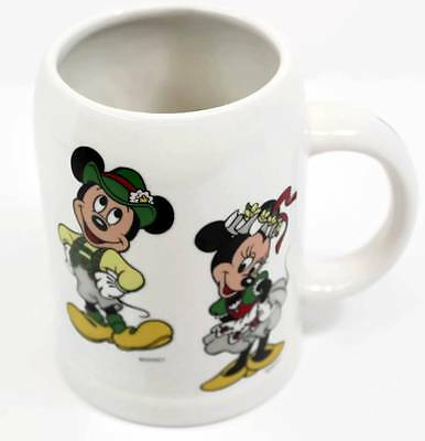 Disney Mickey and Minnie Mouse Coffee Mug Reutter Germany