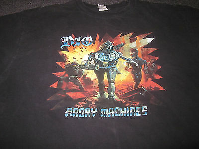 Vintage 1996 Dio Angry Machines Xxl Tour T Shirt Heavy Metal