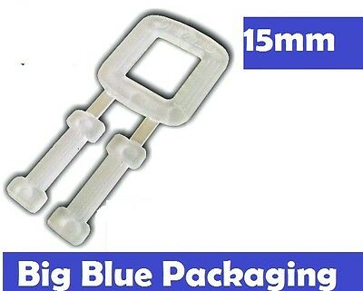BUCKLES PLASTIC FOR POLY STRAPPING 1000 x 15mm  polyester polypropylene