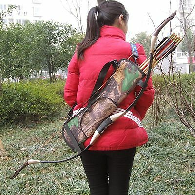 Simple Archery Equipment Camouflage Bow Quiver Comfy Waist Hanging Arrow Case