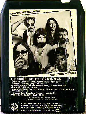 THE DOOBIE BROTHERS Minute By Minute 8 TRACK TAPE  CARTRIDGE