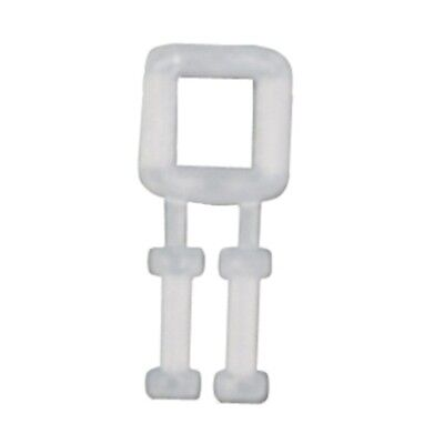 BUCKLES PLASTIC FOR POLY STRAPPING 12MM Pack of 1000 - polyester polypropylene