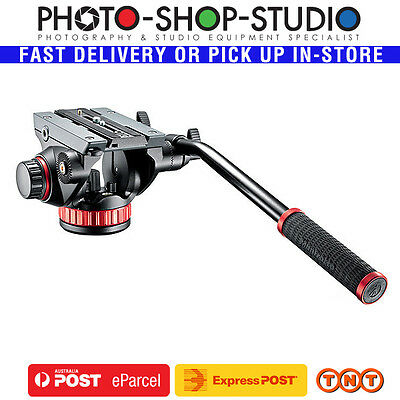 Manfrotto Video Head PRO MVH502AH (Flat Base) fit Benro Velbon Slik Vanguard etc