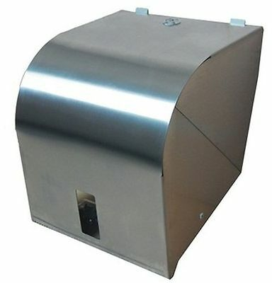 R001S Ozwashroom Stainless Paper Towel Roll Dispenser, Slim modern design, Shiny