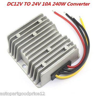 DC 12V Step Up to DC 24V 240W 10A Converter Regulator Car Power Supply Adaptor