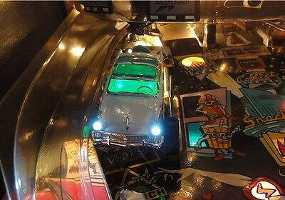 GREEN Creature From The Black Lagoon Pinball Custom Automobile Car Mod
