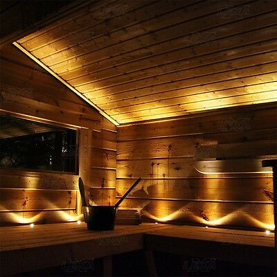 SAUNA LED LIGHTS 12pcs LEXXA Warm White Complete Set With Driver 30/60 degrees