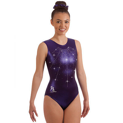 "Milano Pro Sport Gymnastic Leotard 'LIBRA BODICE  77643'  Sizes 26""-36"" - NEW"