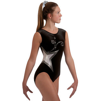 "Milano Pro Sport Gymnastic Leotard ADMIRAL BODICE 77631  Sizes 26""-36"" - NEW"