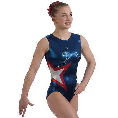 "Milano Pro Sport Gymnastic Leotard ADMIRAL BODICE 77629  Sizes 26""-36"" - NEW"