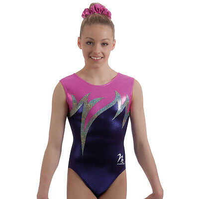 "Milano Pro Sport Gymnastic Leotard TROPICANA BODICE 77628  Sizes 26""-36"" - NEW"