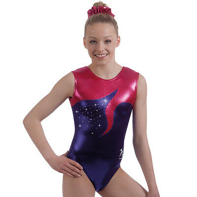 "Milano Pro Sport Gymnastic Leotard VERONA BODICE 77625  Sizes 26""-36"" - NEW"