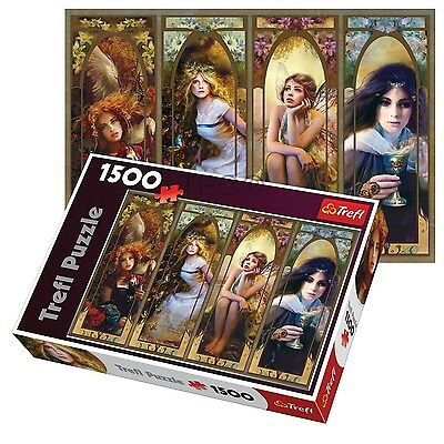 Trefl 1500 Piece Adult Large Fantasy Collage Picture Floor Jigsaw Puzzle NEW