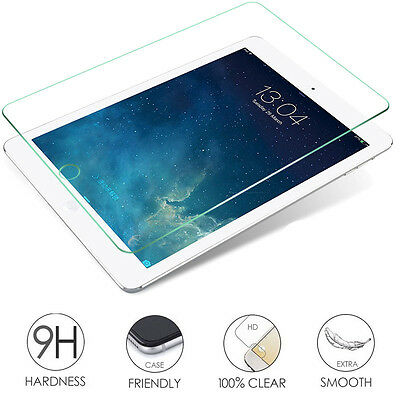 9H Premium Tempered Glass Screen Protector Guard Film For Apple iPad Series