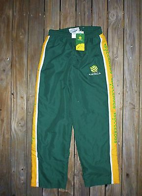 New / Tagged 12 / Boys Socceroos Pants Soccer Track Bottoms Soccer Australia