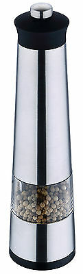 Renberg Stainless Steel Electric Salt Pepper Mill Grinder With Built In Light