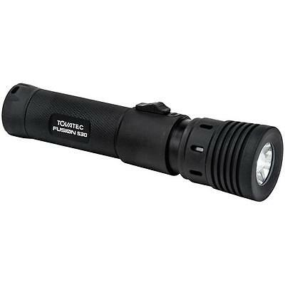 Tovatec Fusion 530 Waterproof Rechargeable 530 Lumens Zoom Torch Flashlight